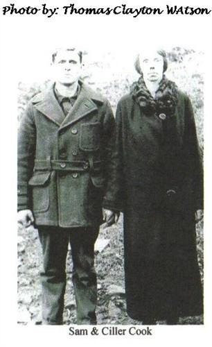 Daughter, Priscilla (Ciller) & husband, Sam Cook